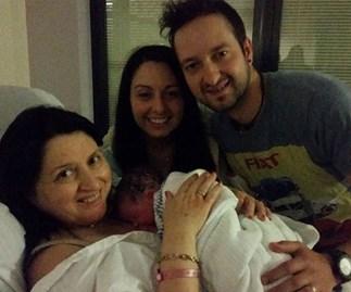 family birth baby