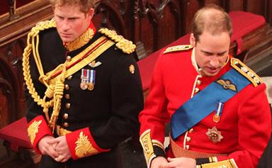 Prince William might not be Prince Harry's best man and we're devo!