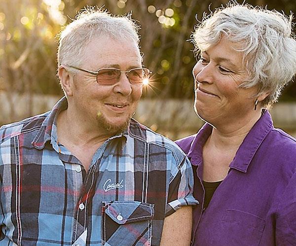 elderly couple transgender