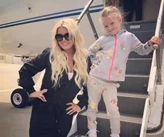 Mummy shamers lash out at Jessica Simpson for letting her 5-year-old daughter wear make-up