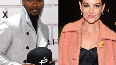 Not in hiding anymore! Katie Holmes attends Jamie Foxx's event