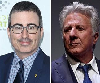 John Oliver confronts Dustin Hoffman over allegations