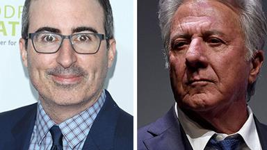 John Oliver confronting Dustin Hoffman over sexual assault allegations will give you goosebumps