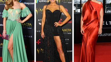It's raining frocks! Inside the 2017 AACTA Awards red carpet