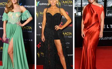 It's raining frocks! Inside the 2017 AACTA Awards red carpet