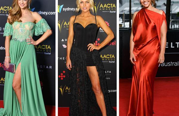 2017 AACTA Awards red carpet
