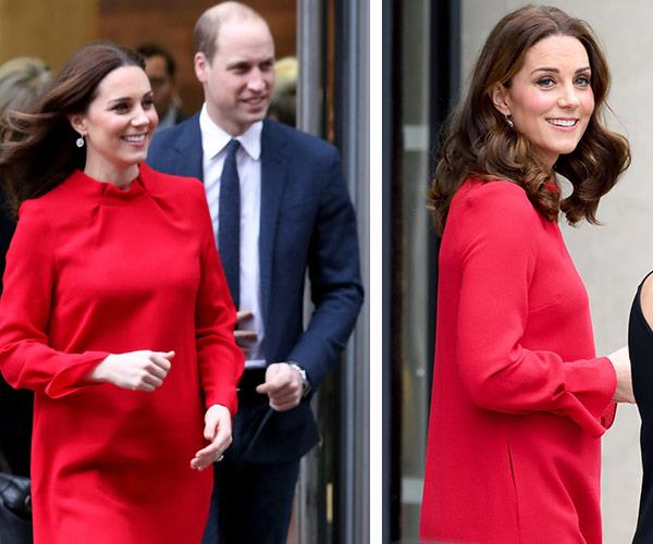**Bumping along beautifully:** The Cambridge clan expanded last April after Kate and William welcomed Prince Louis.