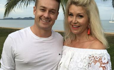 """""""I'm alive!"""" Grant Denyer's wife Chezzi is recovering after emergency surgery for debilitating migraines"""