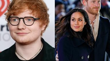Ed Sheeran would like to perform at Prince Harry and Meghan Markle's wedding