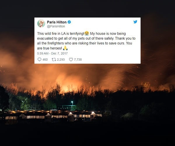 The best and worst of celebrities reacting to the California wildfires