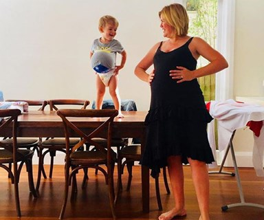 Congratulations! Studio 10's Sarah Harris welcomes her second child