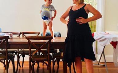 Congratulations! Studio 10's Sarah Harris welcomes her second child