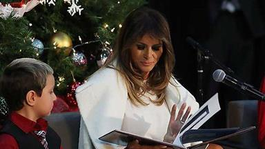 What Melania Trump wants for Christmas is actually really sad