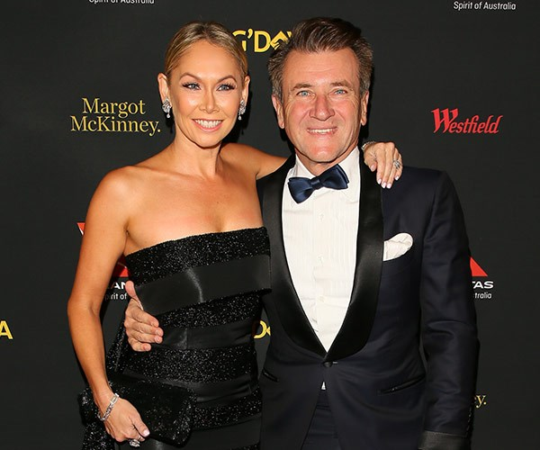 Kym Johnson and Robert Herjavec