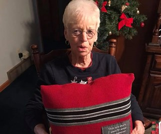 WATCH: Grandma gets beautiful Christmas gift after losing her husband