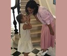 Mermaid in the making! Harper Beckham is hair goals a thousand times over in new pic with her dad