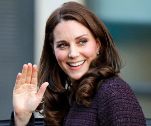 Duchess Catherine hands out gifts as she brings Christmas cheer to Grenfell Tower fire victims