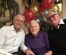Kirk Douglas celebrates his 101st birthday surrounded by family