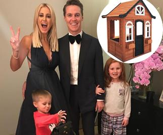 Roxy Jacenko transforms a Kmart kids' cubby into a Hamptons-inspired dream house