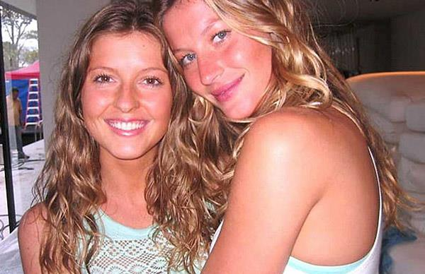 Gisele and Patricia Bunchen