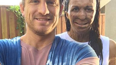 Turia Pitt shares first Instagram picture with baby boy