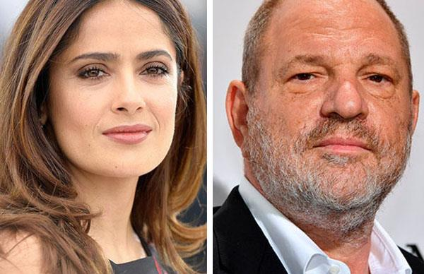 Harvey Weinstein allegedly threatened to kill Salma Hayek for rejecting his advances