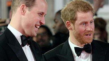 The royal force was with them: Harry & William host epic Star Wars after party at Kensington Palace