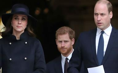 Prince William, Duchess Kate and Prince Harry attend the Grenfell Tower memorial service