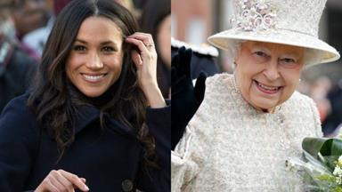 Meghan Markle makes a surprise appearance at the Queen's staff Christmas party