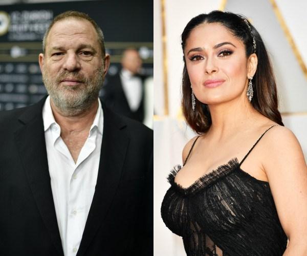 Harvey Weinstein, Salma Hayek