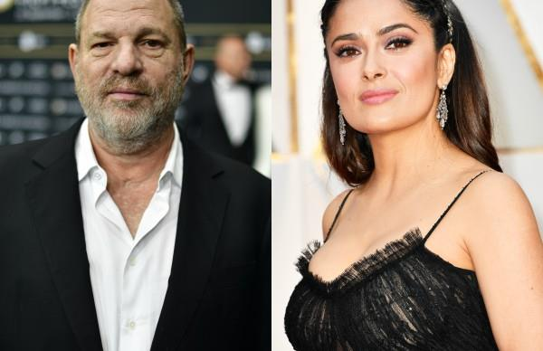 Harvey Weinstein, Salma Hayek