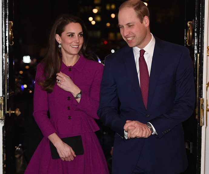 Prince William and Duchess Catherine let their hair down at boozy palace party