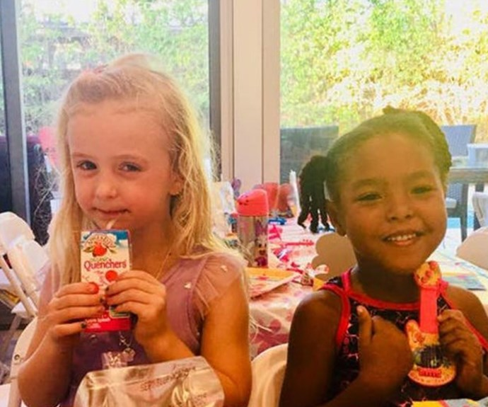 Adorable 4-year-old girls insist they're twins because they have the 'same soul'
