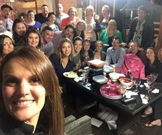 Christmas party has fatal twist after balcony crashes during photo
