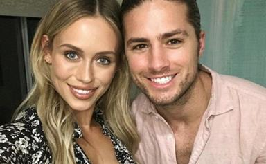 Neighbours cast mates Travis Burns and Emma Lane just got married