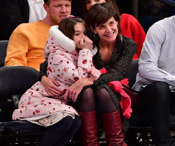 Katie Holmes makes rare appearance with Suri Cruise