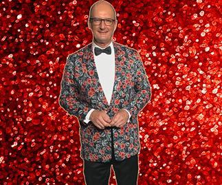 David Kochie Koch in his $16,500 jacket