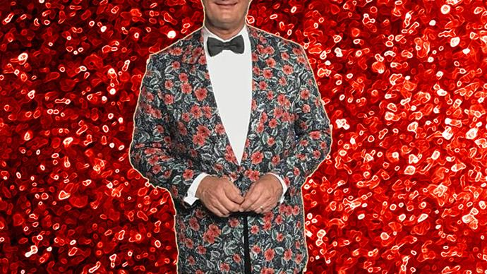 David Kochie Koch in his $16,500 jacket