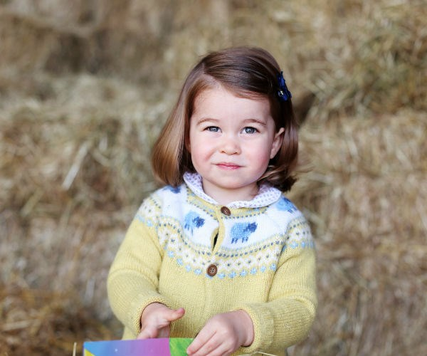 Princess Charlotte is already speaking Spanish.