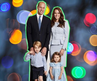 Prince William, Duchess Catherine, Princess Charlotte, Prince George