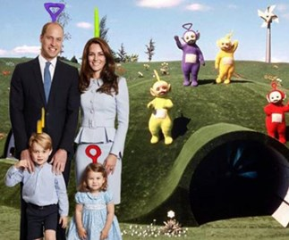 Some absolute legends have photoshopped the Royal family's Christmas card