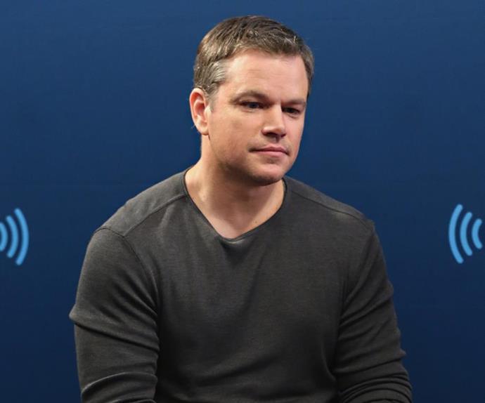 Matt Damon saying stupid stuff about sexual harassment