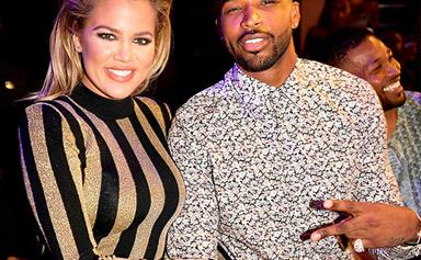 Finally! Khloe Kardashian confirms she is expecting her first child to boyfriend Tristan Thompson