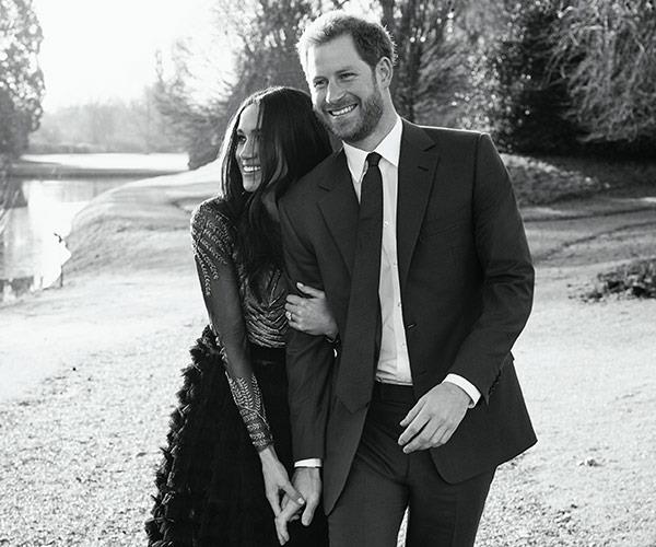 Prince Harry and Meghan Markles engagement photoshoot.