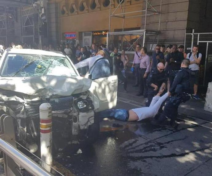 """Flinders Street driver missed """"crucial"""" mental health appointment day of the attack"""
