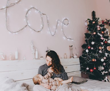 How to survive that weird first Christmas after you have a baby