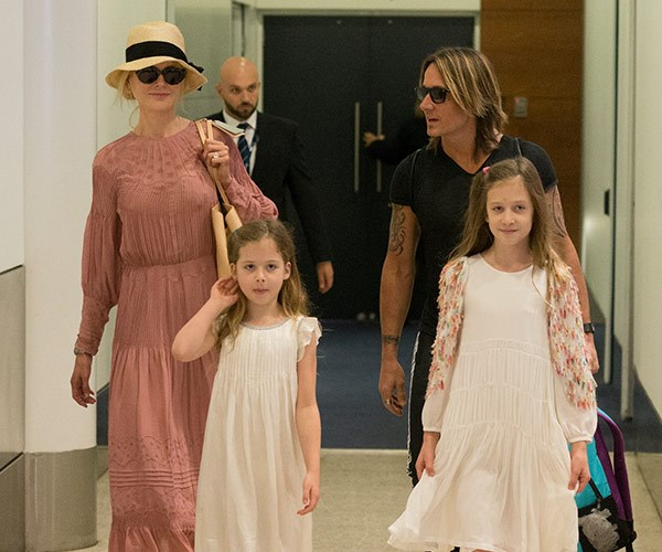 Nicole Kidman, Keith Urban, Sunday Rose, Faith Margaret