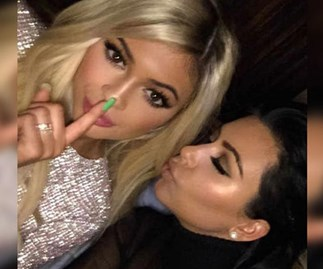 Kim Kardashian totally just hinted that Kylie Jenner is with child