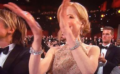 Nicole Kidman gets sassy after her weird clapping was insulted