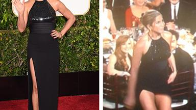 Golden Globes' most dramatic wardrobe malfunctions